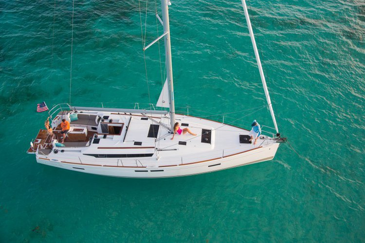 Fun in sun in Sibenik, Croatia aboard splendid Sun Odyssey 469