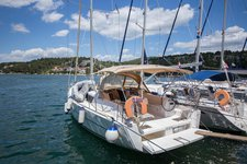 Celebrate your upcoming vacation in Sibenik, Croatia aboard Dufour 382 Liberty