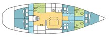 thumbnail-2 Harmony 52.0 feet, boat for rent in Phuket, TH