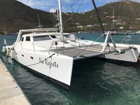 A Luxurious Catamaran out of the BVIs! - BB