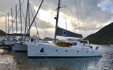Soar Across the Caribbean on this Catamaran!  Captain