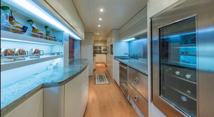 Mega yacht boat rental in Williams Island Marina, FL