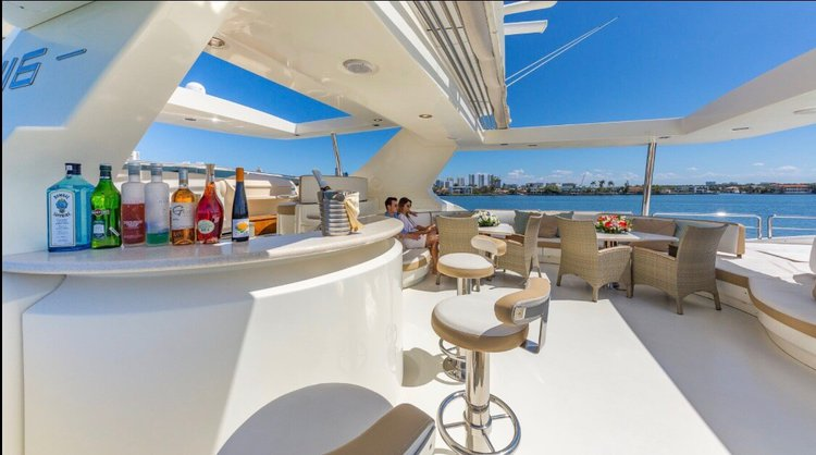Boat for rent Azimut 116.0 feet in Williams Island Marina, FL