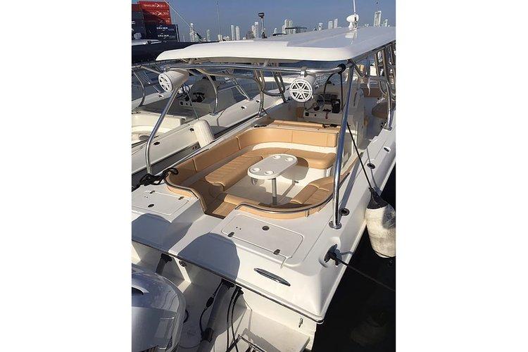 Boat for rent Custom 38.0 feet in Marina Santacruz,