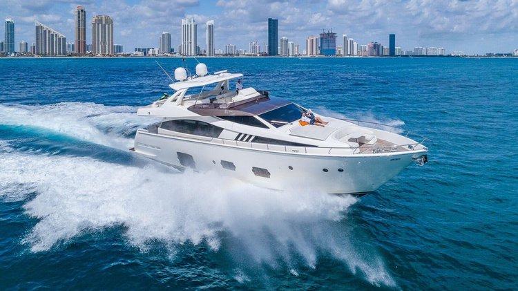 Yacht Party Rental - 80' Ferretti!