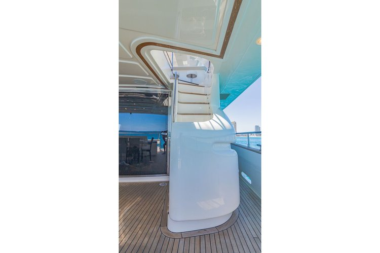 Motor yacht boat rental in Haulover Marina,