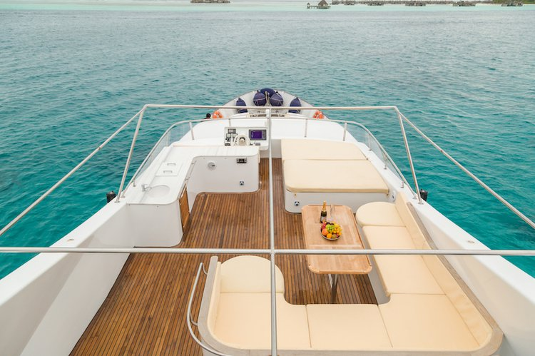 Motor yacht boat rental in Male,