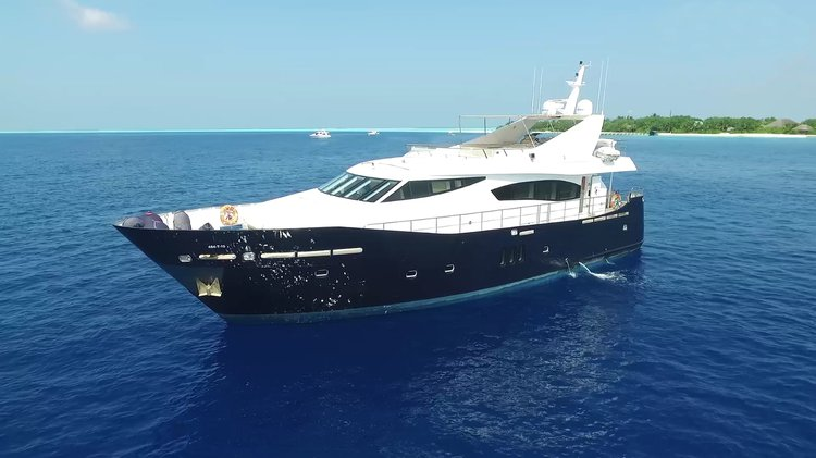 Motor yacht boat for rent in Male