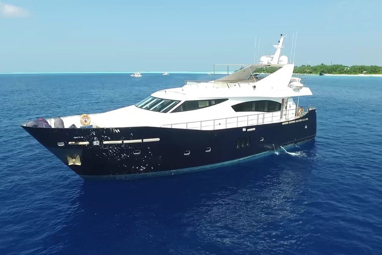 Maldives Luxury Yacht