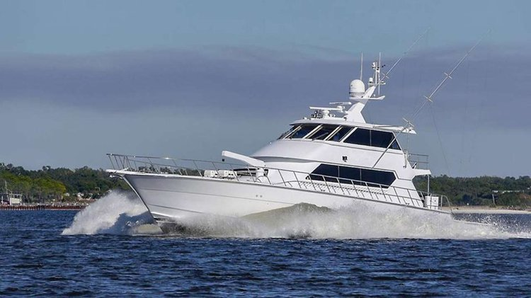 Charter a 2  in 1 luxury yacht and a sport fishing boat in BVIs