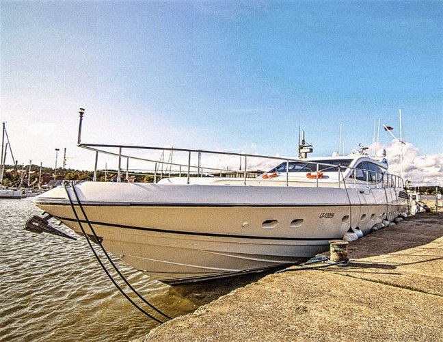 Indulge in pure luxury & comfort aboard only super-yacht in the Baltic region