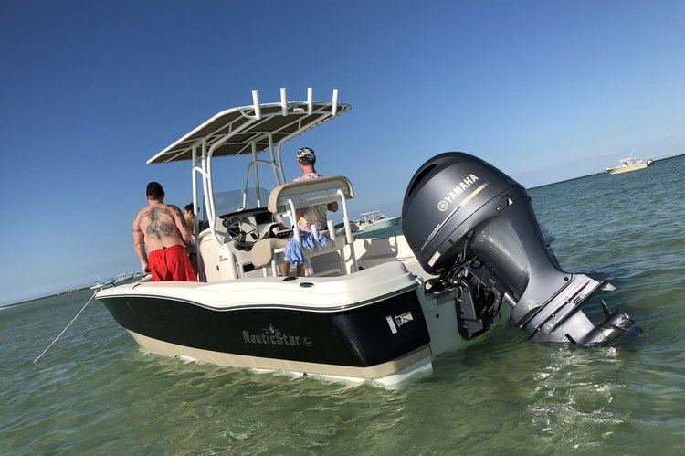 Discover Bradenton surroundings on this 231 Coastal NauticStar boat