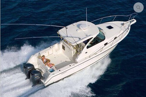 Spend a fabulous day on water in Cartagena, Colombia aboard Pursuit 31