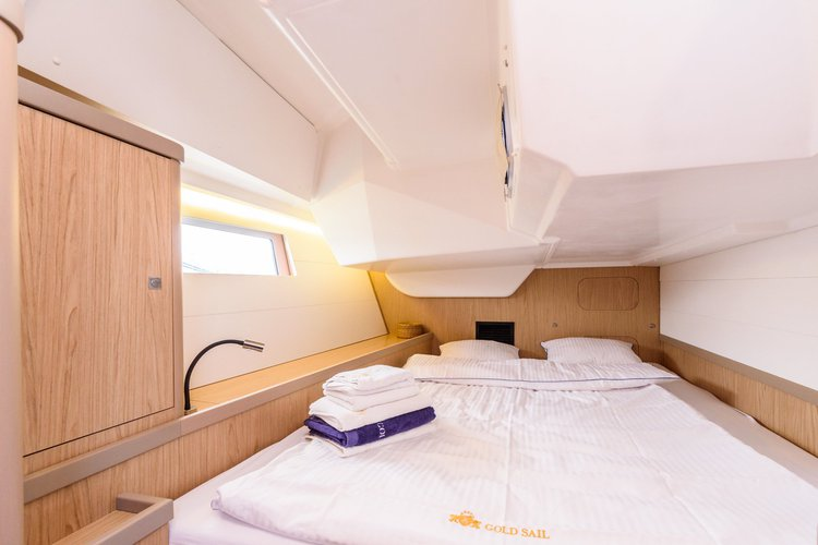 Discover Split surroundings on this Oceanis 48 Beneteau boat