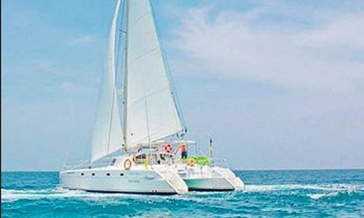 Set sail  in Cartagena, Colombia aboard 43' cruising catamaran