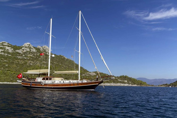 Discover Marmaris surroundings on this Gulet Custom Built boat