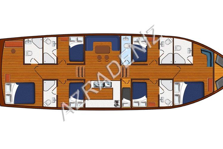Boat for rent Custom Built 78.7 feet in Marmaris, Turkey