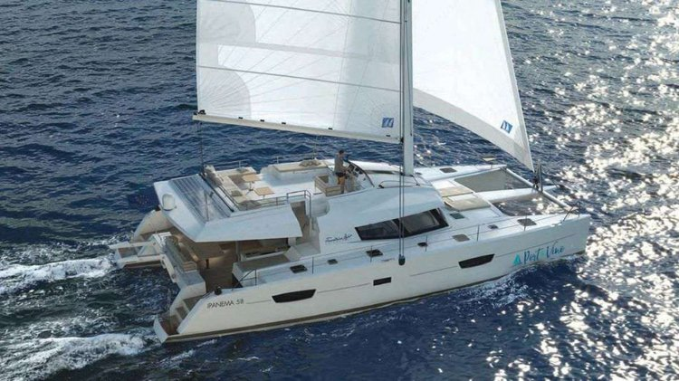 Discover Road Town surroundings on this 58 Fountaine Pajot boat