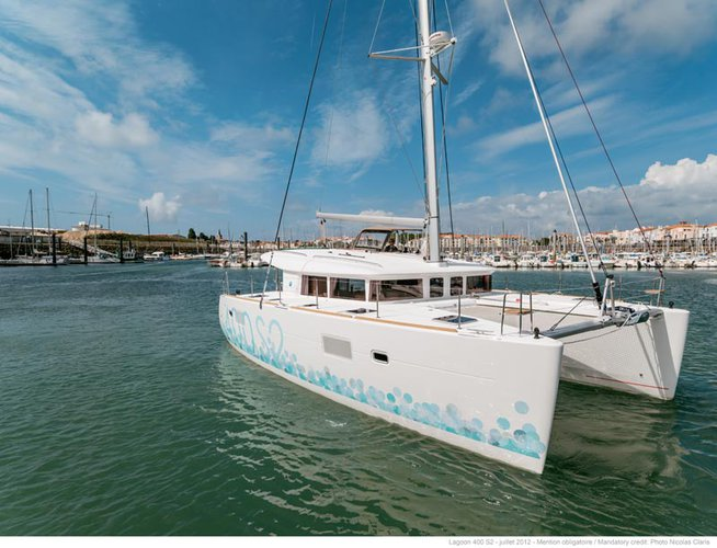 Catamaran boat rental in marina zaton, Croatia