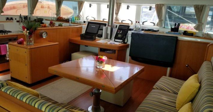 Catamaran boat rental in Cucumber Beach Marina, Belize