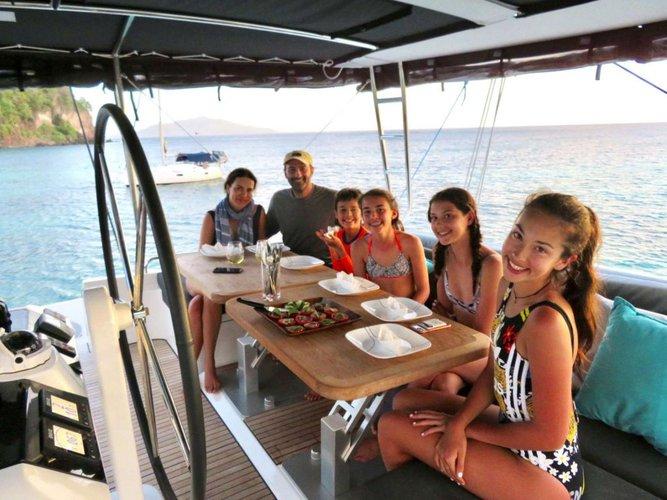 Catamaran boat rental in Nanny Cay Marina,