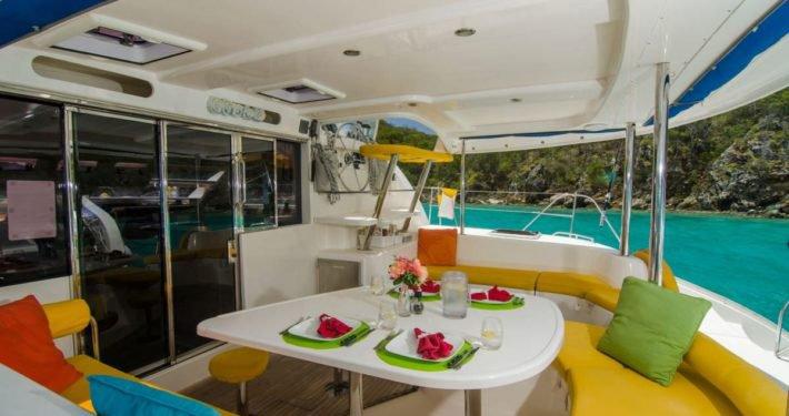 Catamaran boat for rent in Belize City
