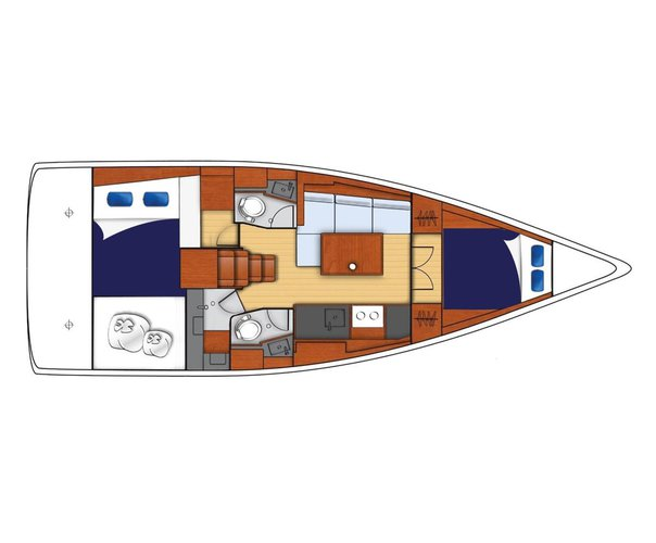 Boat for rent Moorings 38.0 feet in Tortola, British Virgin Islands