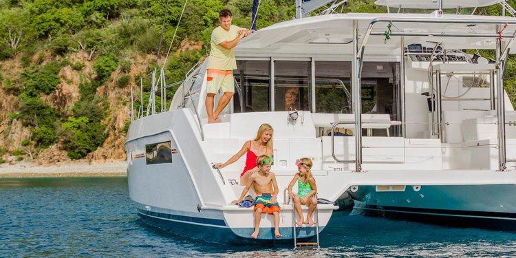 Boating is fun with a Catamaran in Tortola