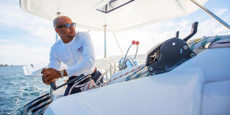 Custom's 39.4 feet in Tortola