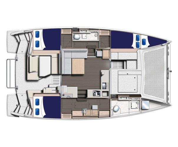Discover Tortola surroundings on this 4000 Custom boat