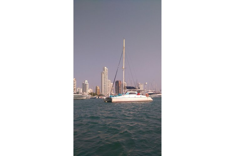 Enjoy sailing in Cartagena, Colombia aboard Wildcat 37