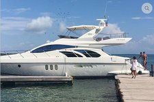 Indulge in luxury and comfort in Cartagena, Colombia aboard Azimut 55