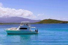 Luxury Yacht Under the Sun