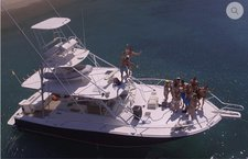 Take some time to relax on water in Santa Marta aboard this elegant yacht