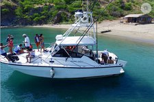 Spend some quality time in Santa Marta, Colombia aboard this stylish yacht