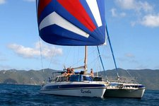Set sail in Tortola, British Virgin Islands aboard beautiful 49' sailing CAT