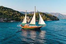 DoraDeniz Luxury Gulet with AC in TURKEY