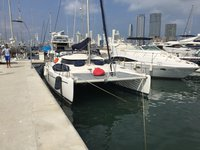 Set your dreams in motion in Cartagena, Colombia aboard Fountain Pajot Tobago 35