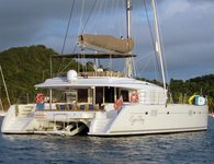 Enjoy sailing in the Caribbean aboard Lagoon 56