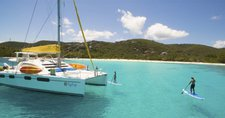 Take some to relax on water in Belize aboard Leopard 46
