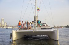 Explore wonderful beauty in Colombia aboard amazing Maxicat 65