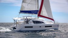 Charter this beautiful &  comfortable Sunsail  404 in British Virgin Islands