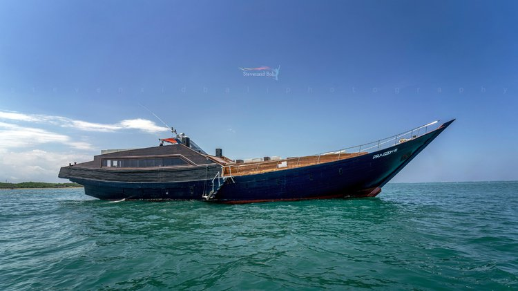 Hop aboard this amazing motor boat charter in Indonesia