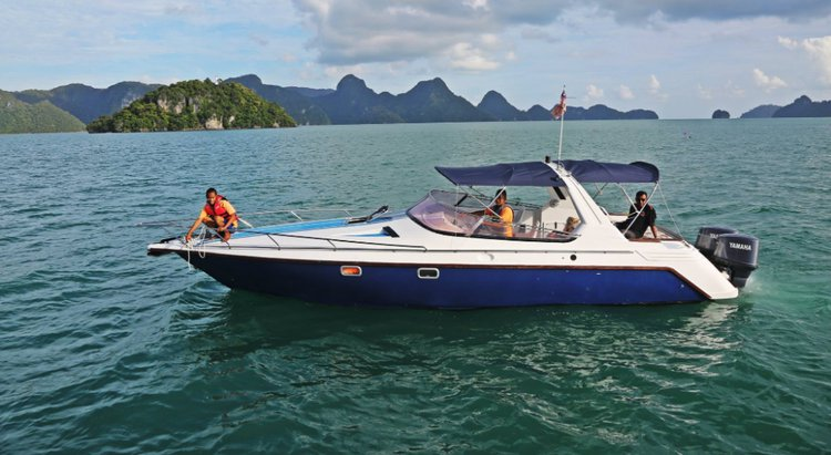 Boat rental in Langkawi,