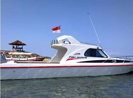 Experience Nusa Dua on board this elegant motor boat