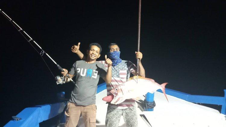 Discover Nusa Tenggara Timur surroundings on this Custom Custom boat