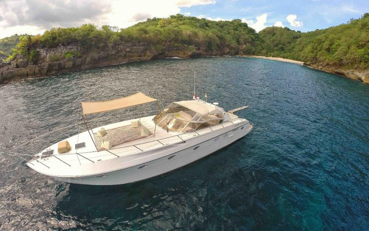 Get the perfect boat to enjoy Indonesia in style aboard this 53' motor yacht