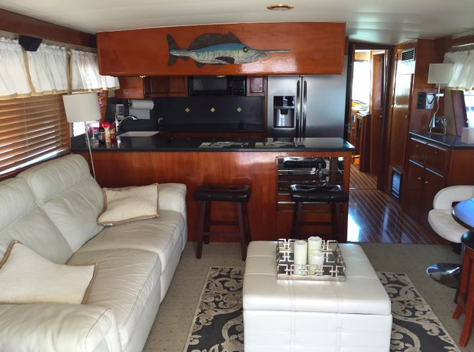 Boat for rent Hatteras 60.0 feet in Cabrillo Isle Marina, CA
