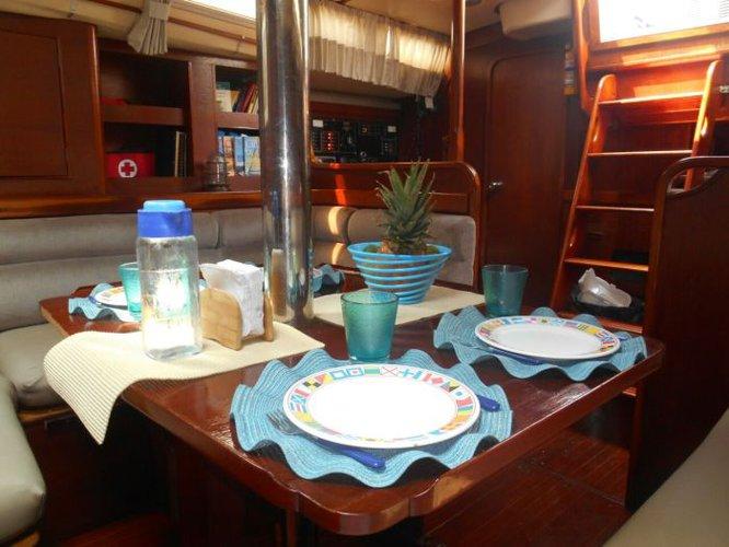 Motorsailer boat rental in Cartagena,