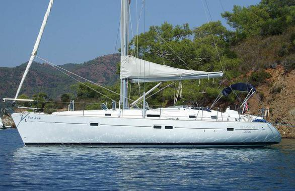 Charter this beautiful 42' sail boat in Cartagena, Colombia